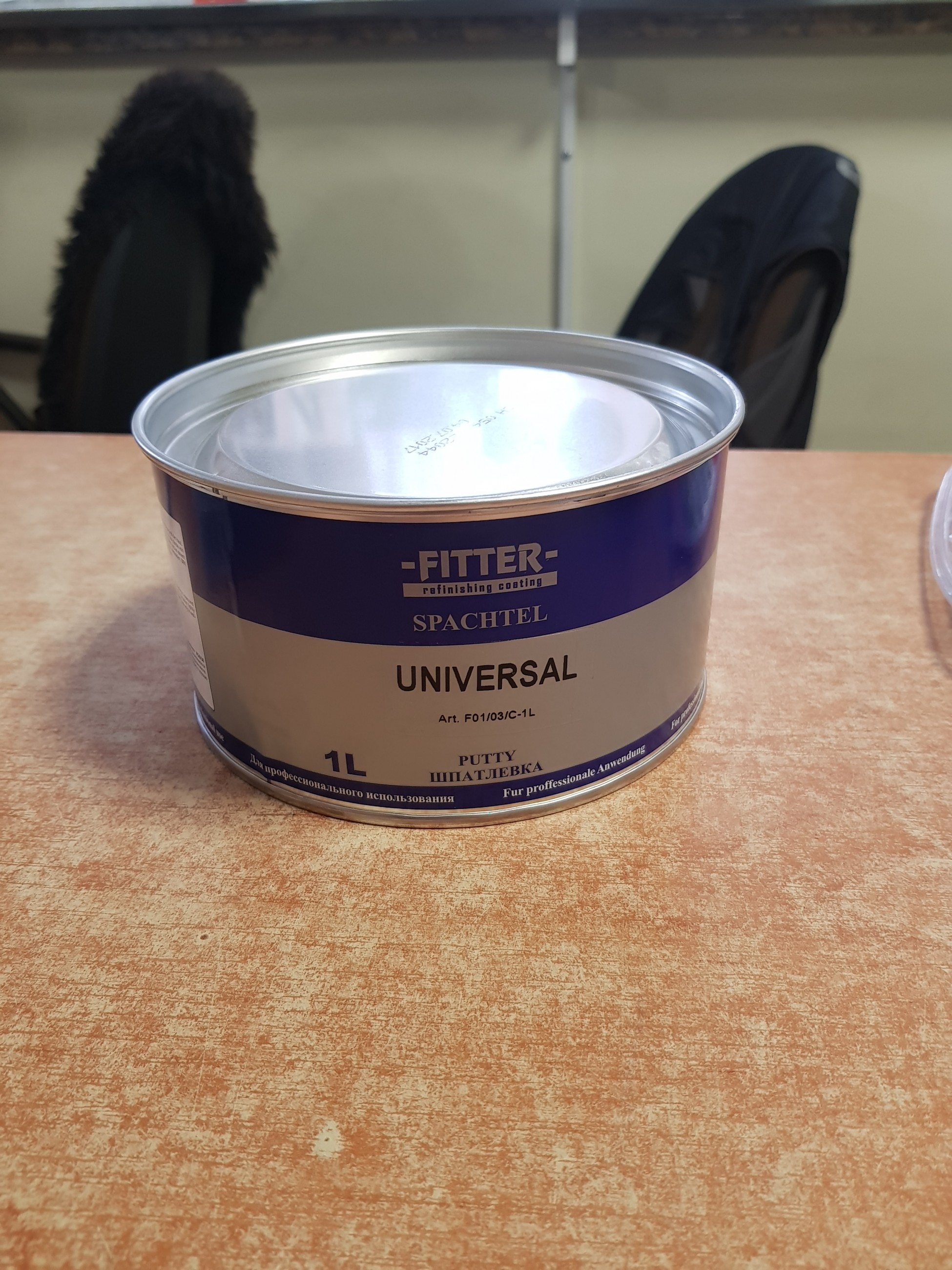 Fitter universal 1L шпатлевка
